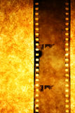 Alter Filmstreifen Stockbild