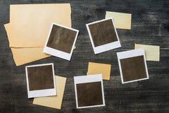 Alter Fotohintergrund lizenzfreies stockbild