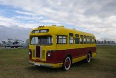 Alter Freiluftbus Lizenzfreies Stockfoto