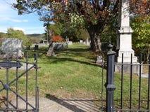 Alter Friedhof Stockbild