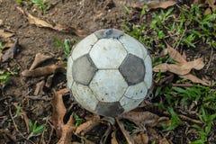Alter Fußball Stockfoto