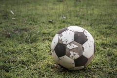 Alter Fußball Lizenzfreies Stockbild