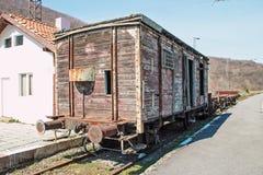 Alter Güterwagen Stockbilder