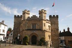 Alter Gaol Buckingham Stockbild