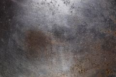 Alter gealterter verwitterter Rusty Metal Surface Texture Background lizenzfreies stockfoto