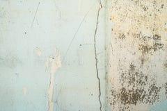 Alter gebrochener Betonmauerbeschaffenheitshintergrund Stockfotografie