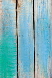 Alter gemalter hölzerner Hintergrund Lizenzfreie Stockbilder