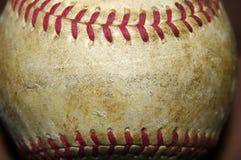 Alter getragener Baseball Lizenzfreie Stockbilder
