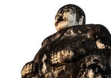 Alter glücklicher Buddha Stockfotografie