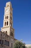 Alter Glockenturm im Morgen Stockfotografie