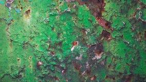 Alter grüner Lack Lizenzfreie Stockbilder