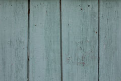 Alter grüner Türkis farbige hölzerne Tür Lizenzfreies Stockfoto