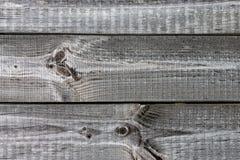 Alter Gray Wood Planks mit Beschaffenheit Lizenzfreies Stockfoto