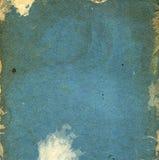 Alter grunge Blauhintergrund Stockfotos