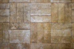 Alter hölzerner Beschaffenheits-Planken-Weinlese-Parkett-Brown-Schreibtisch-beige orange Boden lizenzfreies stockbild