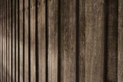 Alter hölzerner Beschaffenheitsperspektiven-Unschärfehintergrund Stockfotos
