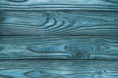 Alter hölzerner blauer Hintergrund von vier Brettern Lizenzfreie Stockbilder