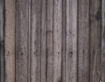 Alter hölzerner brauner Hintergrund Lizenzfreie Stockfotografie