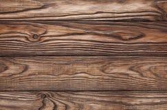 Alter hölzerner brauner Hintergrund von vier Brettern Lizenzfreies Stockbild