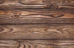 Alter hölzerner brauner Hintergrund von vier Brettern Lizenzfreies Stockfoto