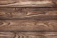 Alter hölzerner brauner Hintergrund von vier Brettern Stockfotos