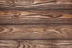 Alter hölzerner brauner Hintergrund von vier Brettern Lizenzfreie Stockbilder