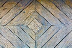 Alter hölzerner Fußboden Stockfotografie