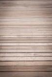 Alter hölzerner Fußboden Lizenzfreie Stockbilder
