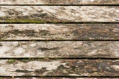 Alter hölzerner Fußboden Lizenzfreie Stockfotos