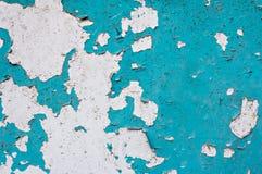 Alter hölzerner Hintergrund Alte Plaketten der Türkisfarbe Lizenzfreie Stockbilder
