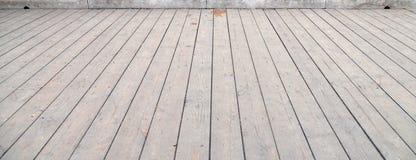 Alter hölzerner Holzfußboden lizenzfreie stockfotografie