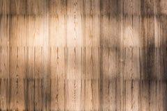 Alter hölzerner Plankehintergrund Lizenzfreies Stockbild
