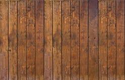Alter hölzerner Plankehintergrund stockfotos