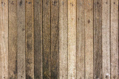 Alter hölzerner Plankenhintergrund, Holz deckt Hintergrund, hölzerne Beschaffenheit mit Ziegeln Stockfoto