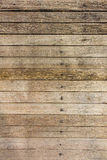Alter hölzerner Plankenhintergrund, Holz deckt Hintergrund, hölzerne Beschaffenheit mit Ziegeln Lizenzfreie Stockfotografie