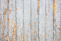 Alter hölzerner Plankenhintergrund mit grauer Farbe weg abziehen stockfotos