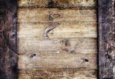 Alter hölzerner Plankenhintergrund oder -beschaffenheit Lizenzfreies Stockbild
