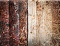Alter hölzerner Plankenhintergrund oder -beschaffenheit Lizenzfreie Stockbilder