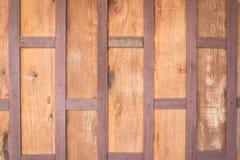 Alter hölzerner Plankenwandhintergrund stockbild