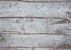 Alter hölzerner schäbiger Hintergrund, hellgraues gemaltes schroffes Brett, natürlicher alter rustikaler hölzerner Beschaffenheit lizenzfreie stockfotografie