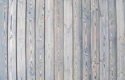Alter hölzerner Zaun hölzerner Palisadehintergrund Plankenbeschaffenheit Stockbild