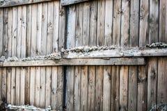 Alter hölzerner Zaun Hintergrund, im Freien Lizenzfreie Stockbilder