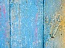 Alter hölzerner Zaun Retro- Hintergrund und Beschaffenheit Stockbilder