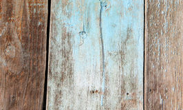 Alter hölzerner Zaun Retro- Hintergrund und Beschaffenheit Stockfoto