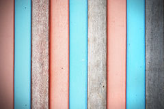 Alter hölzerner Zaunhintergrund Stock Abbildung