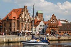 Alter Hafen Wismar redaktionelles foto. Bild von szenisch - 80376656