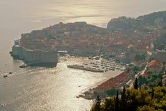 Alter Hafen Dubrovniks Lizenzfreie Stockbilder