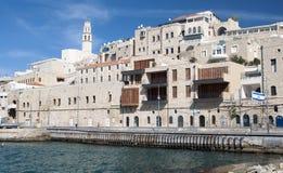 Alter Hafen Jaffas (Yaffo) Stockbild