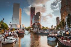 Alter Hafen Rotterdams lizenzfreies stockfoto