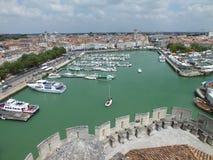 Alter Hafen von La Rochelle Stockbilder
